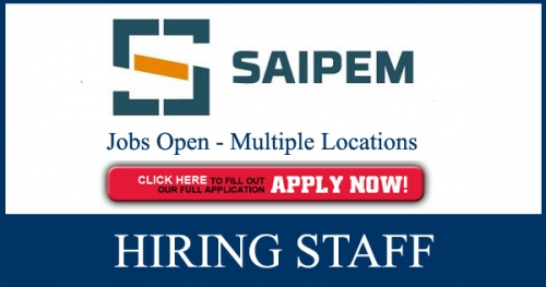 Latest Saipem Jobs Opportunities January,2019