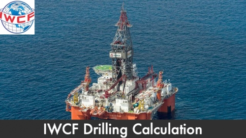 IWCF Drilling Calculation (All parts are included)