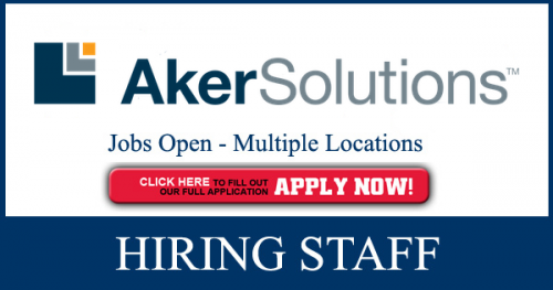 Latest AkerSolutions Jobs Opportunities May,2019