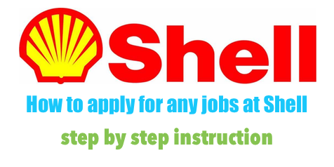 How to apply for any job at Shell