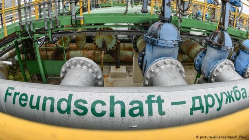 German refinery halts Russian oil imports again on poor crude quality