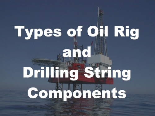 Types of Oil Rig and Drilling String Components