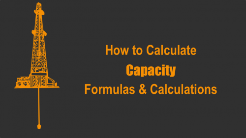 Annular Capacity Formulas & Calculations