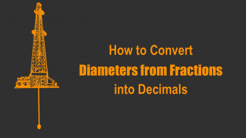 How to Convert Diameters from Fractions into Decimals