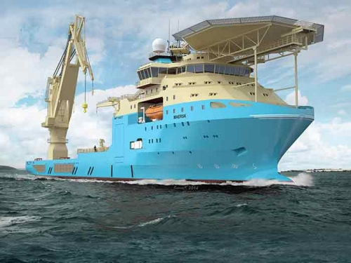 Chevron selects Maersk supply vessels for Gorgon project