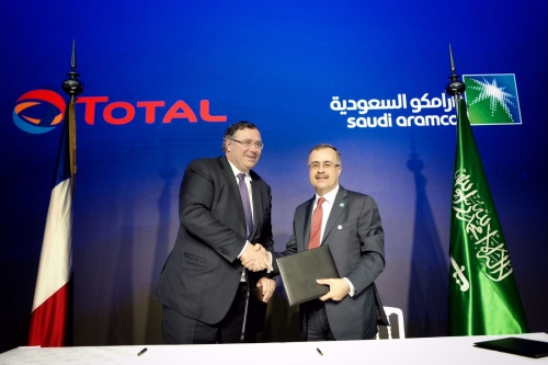 Aramco and Total develop fuels and retail network in Saudi Arabia