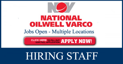 Latest National Oilwell Varco Jobs Opportunities February,2019
