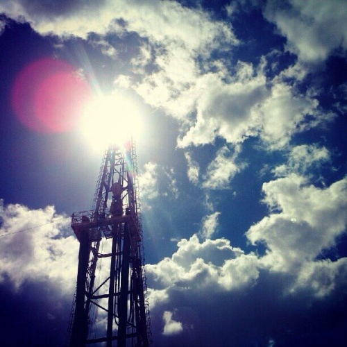 Oil prices spike on shale slowdown
