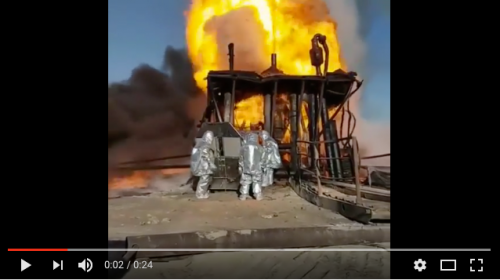 Oil Well Blowout